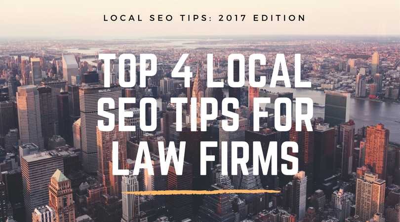 Law Firm Local SEO Tips