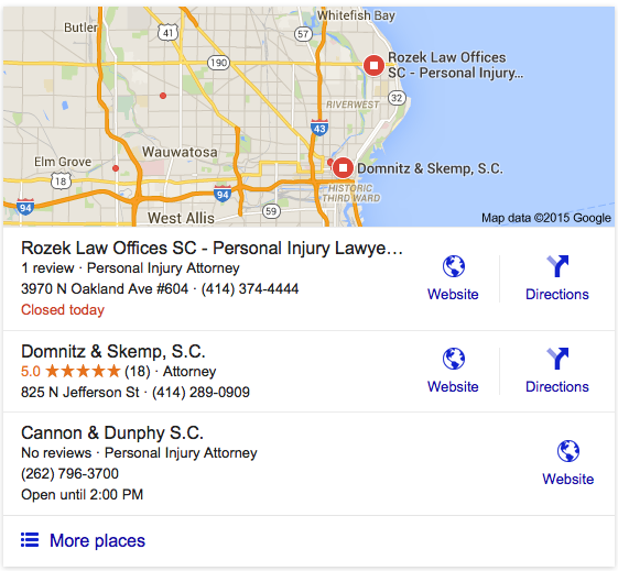 content marketing local seo for small business